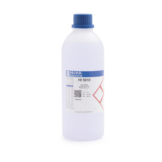 Solution d etalonnage violet pH 10 01  bouteille 500 ml  certificat