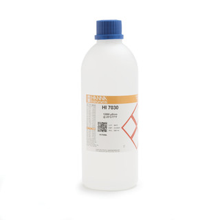 Solution d etalonnage de conductivite a 12 88 mS/cm  bouteille 500 ml