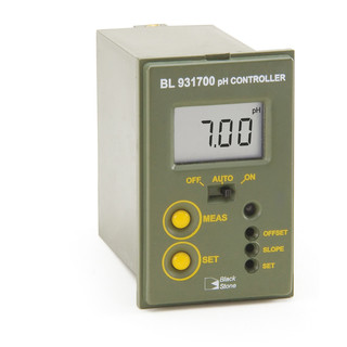 Mini-controleur de pH  encastrable  simple seuil  220 V