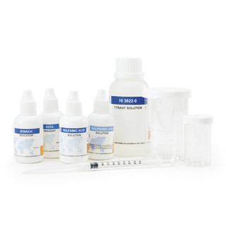 Kit d analyse des sulfites  0 a 20 mg/l - 0 a 200 mg/l   110 tests