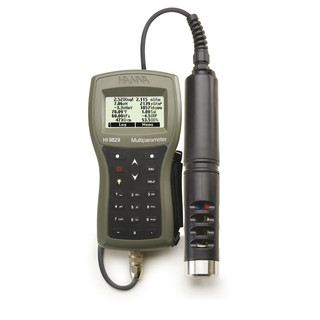 Multiparameter met GPS  sonde pH  ORP/EC  FNU/DO  4 m kabel