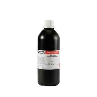 Solution etalon 0 1 M fluorures  500 ml