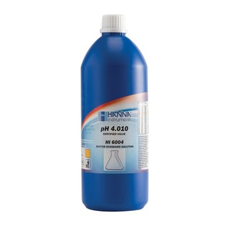 Solution d etalonnage pH 4 010  bouteille 1000 ml  certificat