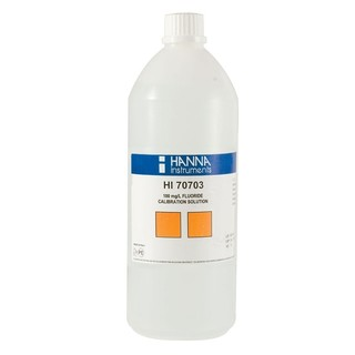 Solution fluorures 100 mg/l  bouteille 500 ml