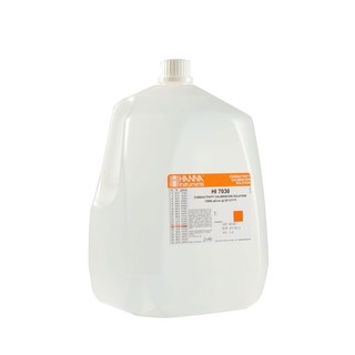 Solution d etalonnage de conductivite a 12 88 mS/cm  bouteille 1 gallon