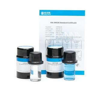 Solutions etalons Cal Check pour cuivre gamme large  0 0 et 2 0 mg/L  ppm
